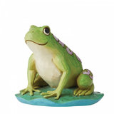 Jim Shore Frog Mini_
