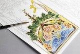 Jugendstil kleurboek