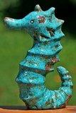Zeepaard Turquoise Terracotta_