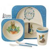 Peter Rabbit organic bamboe tafelset_