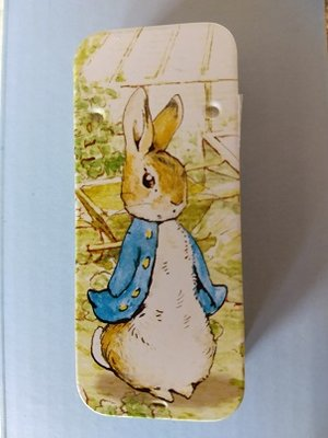 Peter Rabbit mini-blikje
