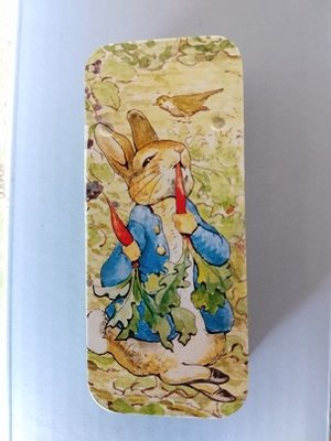 Peter Rabbit mini-blikje Peter eet wortels