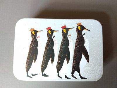 Sara Miller Kerstblikje Pinguins