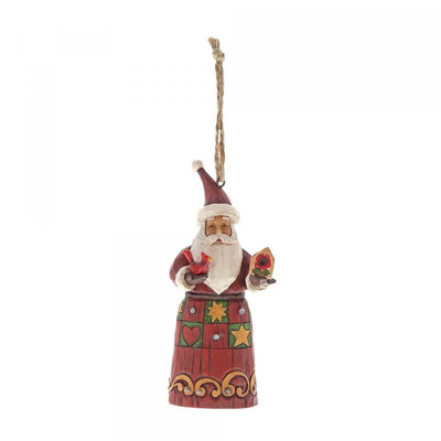 Jim Shore Santa Birdhouse (Hanging ornament)