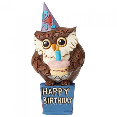 Jim Shore Mini Birthday owl