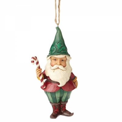 Winter Wonderland Santa Gnome (hanging ornament)