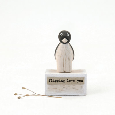 "Miniatuur ""Flipping love you"""