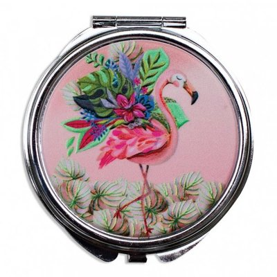 Michelle Allen pillenbox flamingo