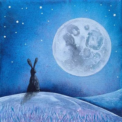 """Kaart """"Ice Moon"""""""