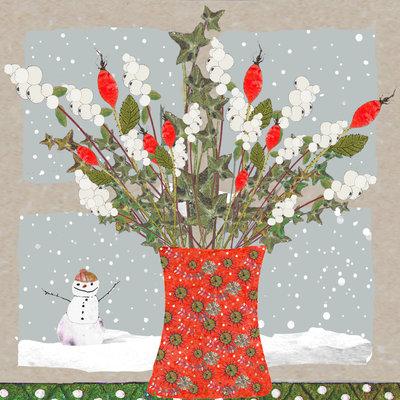 Aardappelkaart Christmas Window