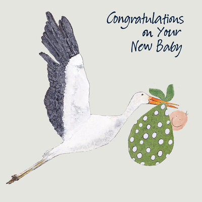 Aardappelkaart Congratulations on your New Baby