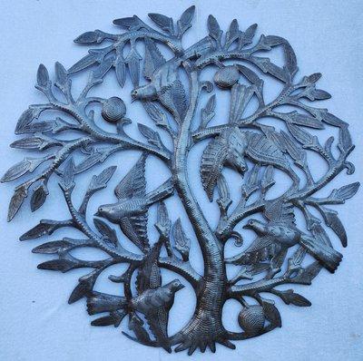 Levensboom met de 5 vogels