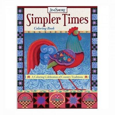 Jim Shore Kleurboek Simpler Times