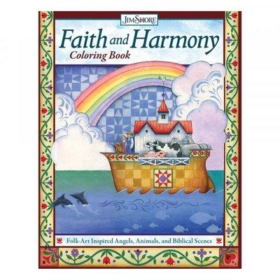 Jim Shore Kleurboek Faith and Harmony