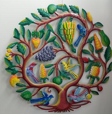 Fruitboom gekleurd 60 cm.