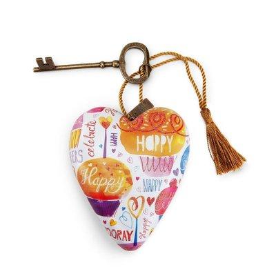 Art Hearts Happy at Heart