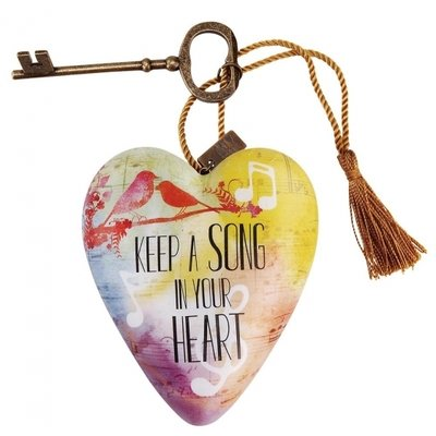 Art Hearts Keep a Song in Your Heart
