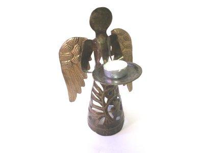 Engel met gouden vleugels