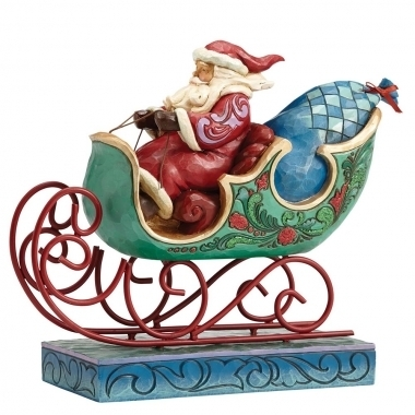 Enjoy The Ride (Winter Wonderland Santa in Sleigh)