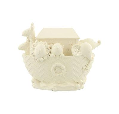 Baby Ark van Noach Spaarpot Cream