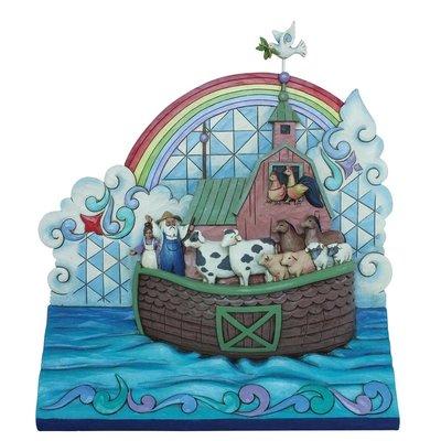 Ark van Noach(Noah's Ark plaque)