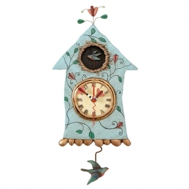 Fly Bird Clock