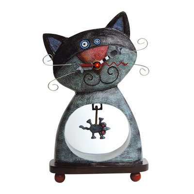 Cat & Mouse Clock