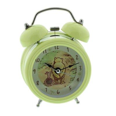 Classic Pooh - Groene wekker - Pooh & Knorretje