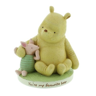 Classic Pooh - Spaarpot Pooh & Knorretje