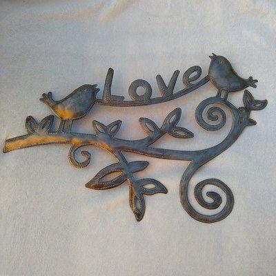 """Hanger vogels 'Love"""""""