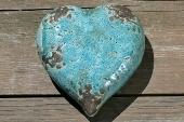 Turquoise hart