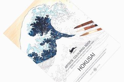 Kleurboek Hokusai