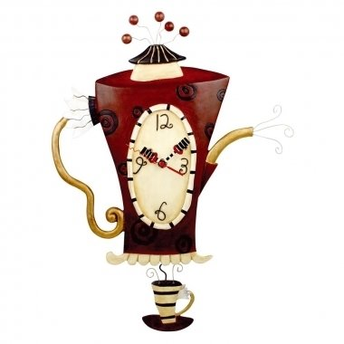 Steamin' Tea Clock