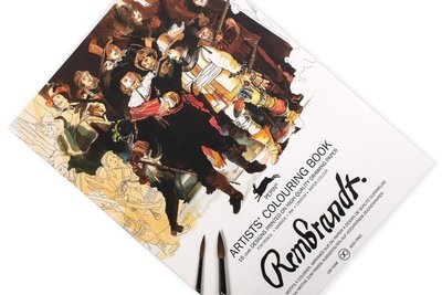 Kleurboek Rembrandt Paintings