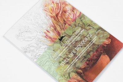 Kleurboek Still Life Bouquets