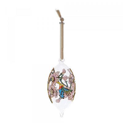 Hummingbird hanging ornament