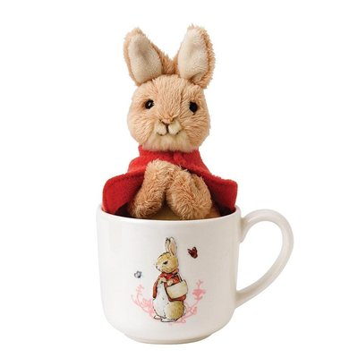 Peter Rabbit Flopsy met beker