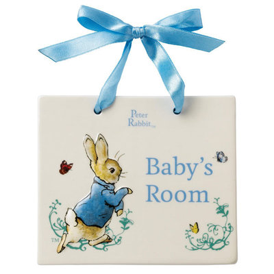 Peter Rabbit Baby's Room blauw