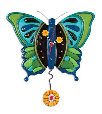 Mariposa Clock