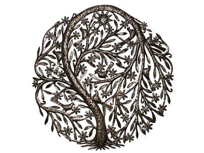 Levensboom met zonnetje groot