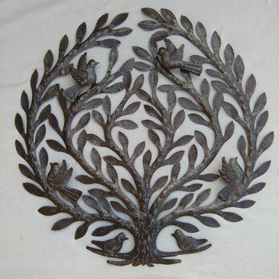 Levensboom 4 vogels relief