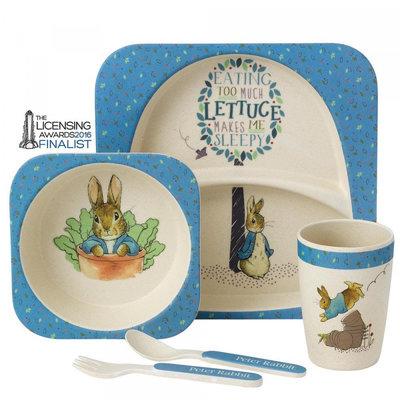 Peter Rabbit organic bamboe tafelset
