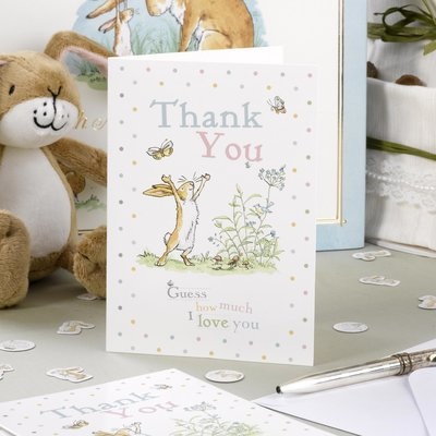 Hazeltje Thank You kaarten (10 stuks)