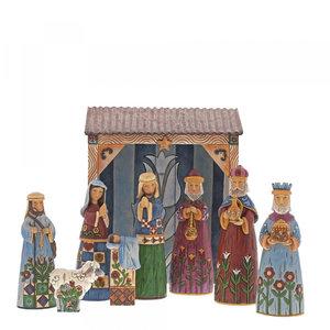 Folklore Nativity Set
