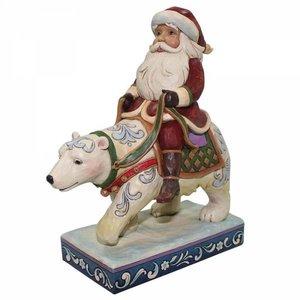 Bear with me (Santa riding polar bear)