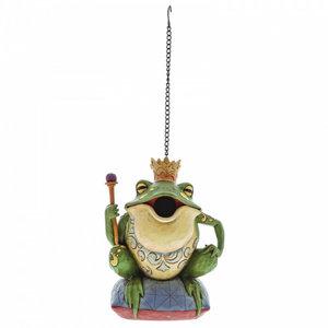 Jim Shore Birdhouse Frog