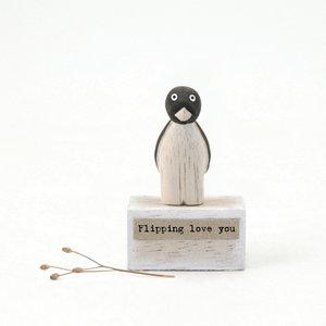 "Miniatuur ""Flipping love you"""