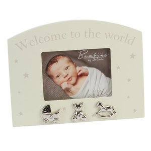 Fotolijstje 'Welcome to the World'