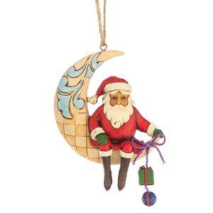 Jim Shore Crescent Moon Santa