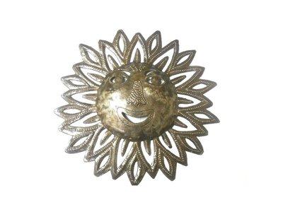 zon met gezicht